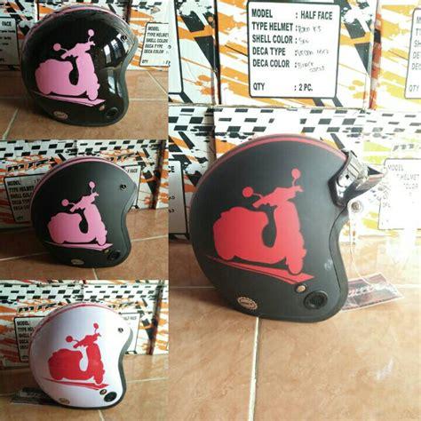 Helm Retro Bogo Anak Sni Pucca Bordir Size 6 11th jual helm bogo hjt vespa kaca bogo original di indonesia