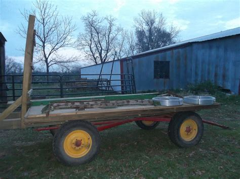 Homemade Platform Bed Hay Wagon Rebuild Chism Heritage Farm
