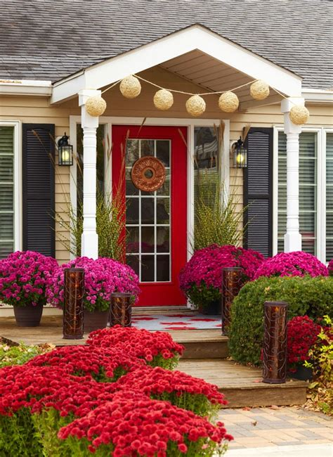 fall curb appeal for the home - Fall Curb Appeal