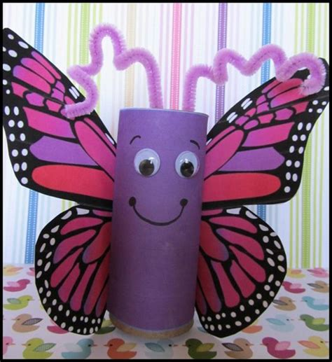 Arts And Craft With Toilet Paper Rolls - 1000 images about hmyz on butterfly crafts