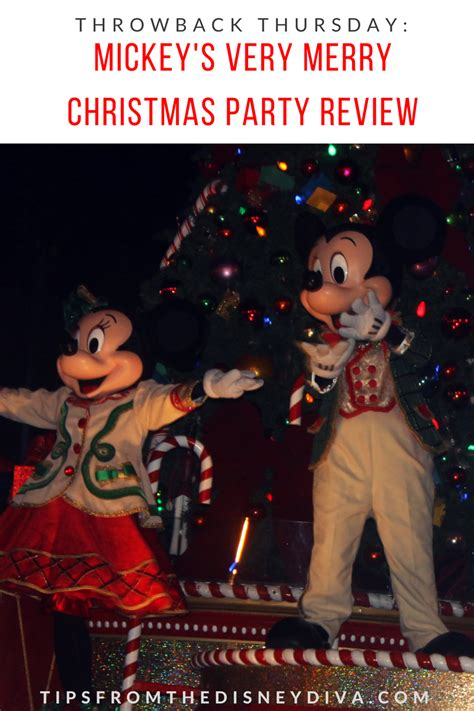 throwback thursday mickey s very merry christmas party