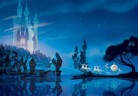 disney castle wall mural disney wallpaper mural for children s bedroom castle view cinderella princess ebay