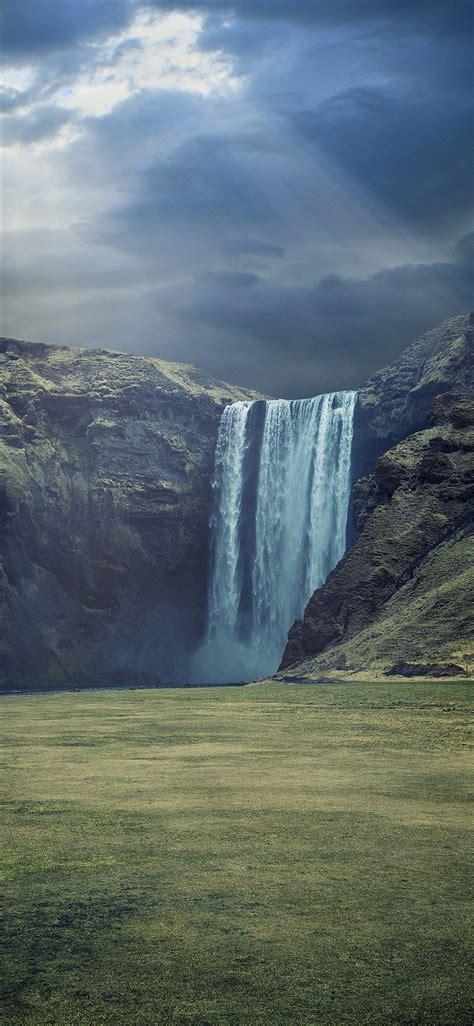 waterfall landscape hd wallpaper