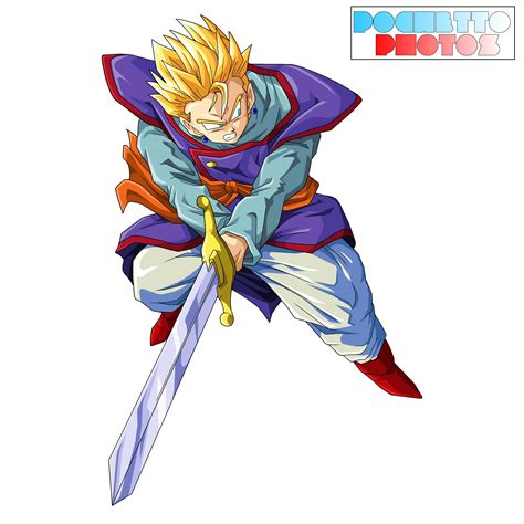 gohan supremo gohan supremo render by pochetto on deviantart