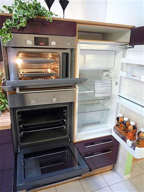 Lackieren Backofen by Bauformat Musterk 252 Che K 252 Chenzeile Hochglanz Mit Bar Und