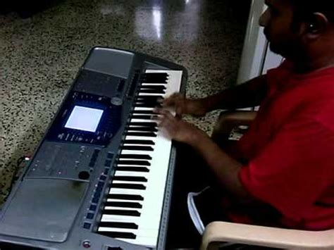 theme music punnagai mannan punnagai mannan theme on keyboard youtube