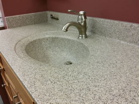 Cultured Marble Vanity Tops With Sink by Gray Marble Top With Rectangle Sink Also Faucet Atlanta