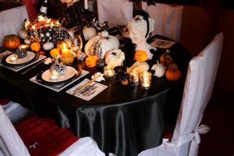 Home Decor Halloween table de f 234 te une d 233 co d halloween chic et glamour
