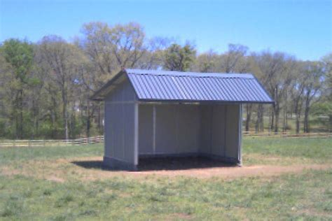 Loaf Shed by Md Barnmaster Durable Safe Livestock Loafing Sheds Run