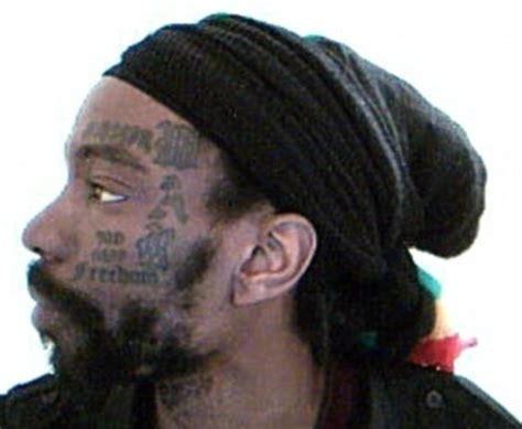 leader of the black panthers who sports a tattoo reading