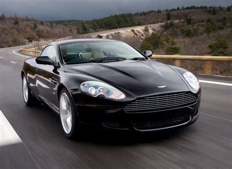 aston martin sedan black sports car aston martin db9 black