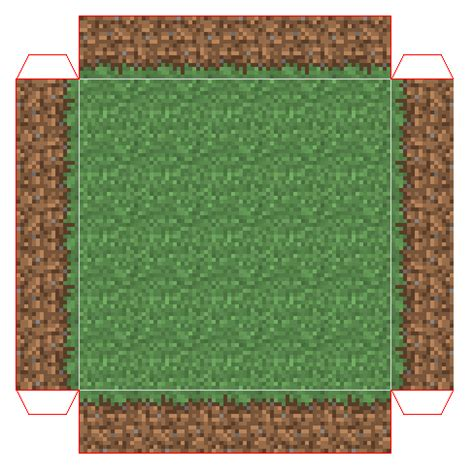 Minecraft Papercraft Grass Block - minecraft grass background www pixshark images