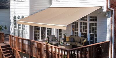 Motorized Awnings For Decks Retractable Awnings And More From Solair Shade Solutions