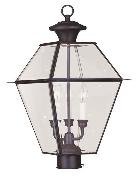 Livex Lighting by Livex Lighting 2384 07 Outdoor Post Light From The