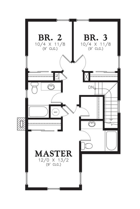 sullivan floor plan mascord house plan 21116 the sullivan
