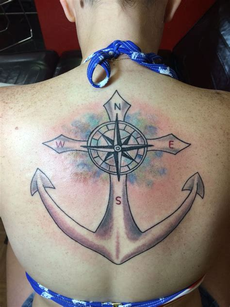 infinity tattoo compass best 25 cross anchor tattoos ideas on pinterest anchor