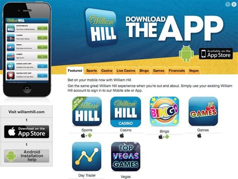 william hill mobile app how to get william hill free bets february 2018