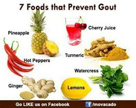 foods for gout health board pinterest drinks on and or