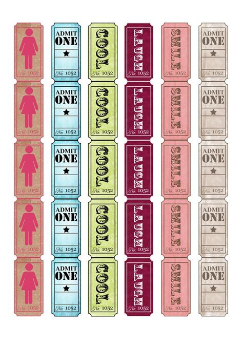free printable tickets online 10 best images about raffle ticket templates ideas on
