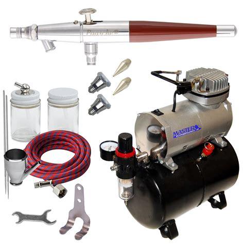 paasche vl set airbrush system kit air compressor tank t shirt hobby cake ebay