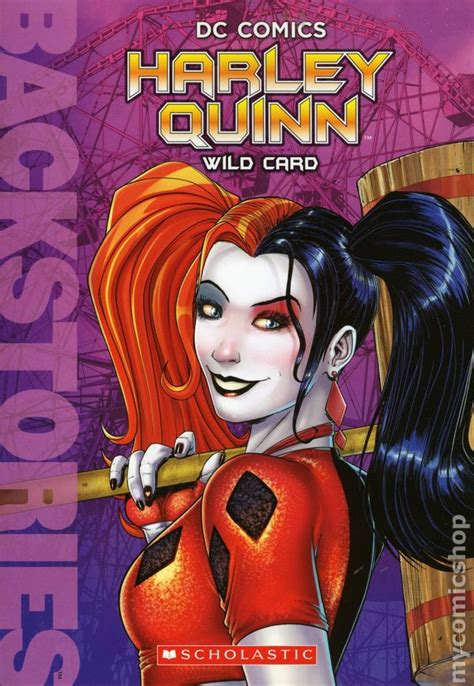 harley quinn at high dc books dc comics harley quinn card sc 2016 scholastic