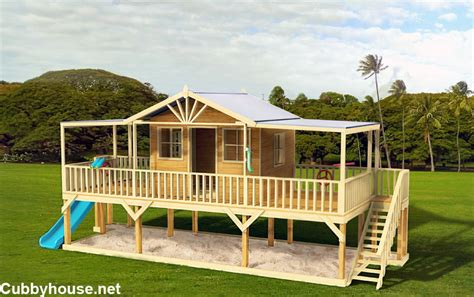 plans for cubby house cubby house diy plans house best design