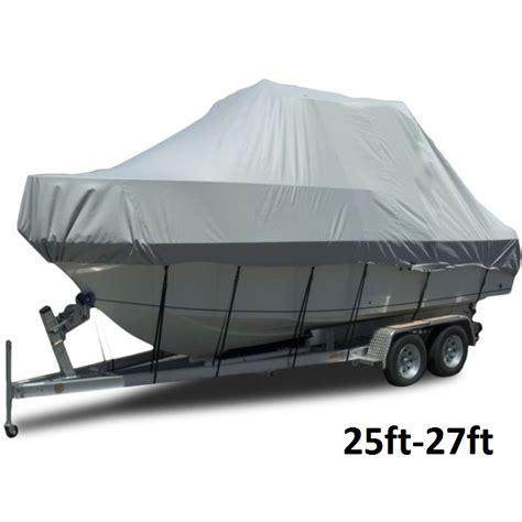 heavy duty boat cover jumbo heavy duty trailerable boat cover 25 27ft buy boat