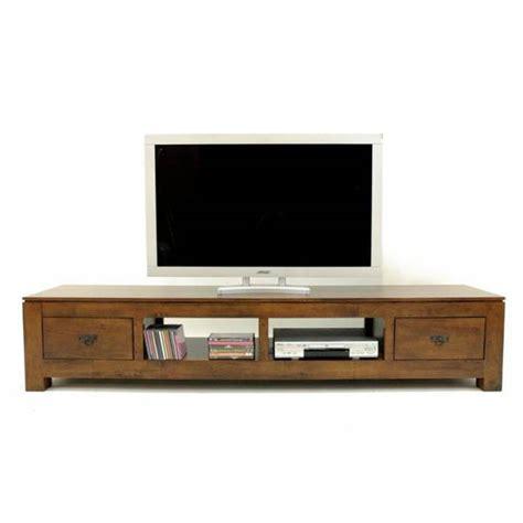 Meuble tv bas et long bois   Royal Sofa : idée de canapé