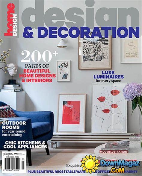 interior design and decoration magazines pdf design and decoration vol 6 2016 187 pdf
