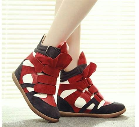 Sneaker Wedges Sepatu Boot Heels sepatu boots wedges korean style 17 best images about