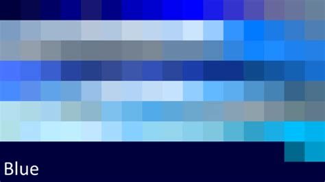 what does the color blue colors blue