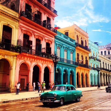 cuban colors paseo prado cuba cuba lahabana prado
