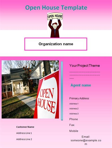 open house template open house template graphics and templates