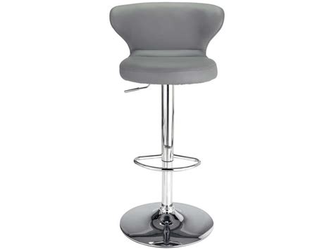 Tabouret De Bar Gris Conforama by Tabouret De Bar Arthur Coloris Gris Vente De Chaise De