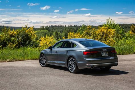 A 5 Audi by 2018 Audi A5 S5 Sportback Drive Review