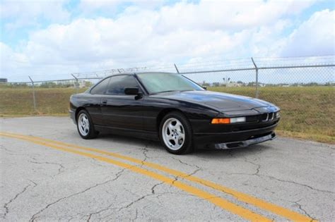 how make cars 1994 bmw 7 series electronic toll collection 1994 bmw e31 840ci 8 series 108 451 miles jet black coupe v8 automatic classic bmw e31 840ci