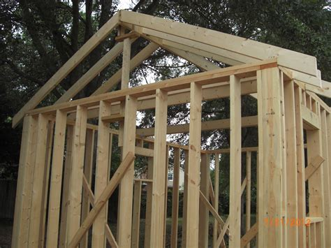 Rafters For Shed Roof by Rafters And Joists Church Of The Holy Family Clothing Shed