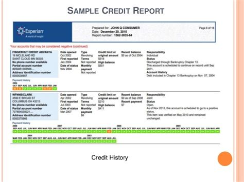 Credit Report Records Understanding Credit Credit Reports