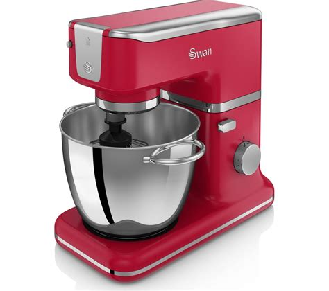 Mixer Crimson buy swan retro sp21010rn stand mixer free delivery currys