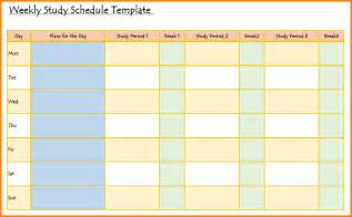 Study hack here s a handy weekly study schedule study for