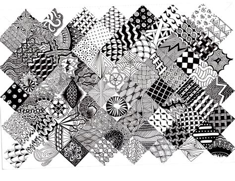 printable zentangle instructions zentangle pattern quilt 2 by thelonelymaiden on deviantart