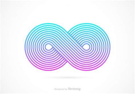 free infinity free retro infinity symbol vector free vector
