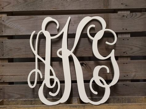 cursive wall letters painted monogram extra large wall letters 30 quot cursive