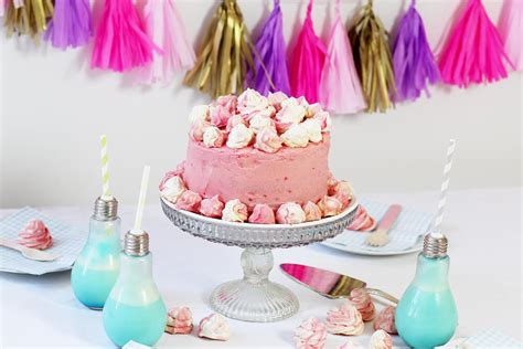 verrückter kuchen ombre torte in pink backen einfaches rezept