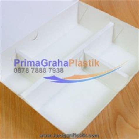 Inner Tray Partisi Paper Bowl 800ml Dengan Sekat primagraha plastik khusus menjual packaging makanan take away untuk restoran food court toko