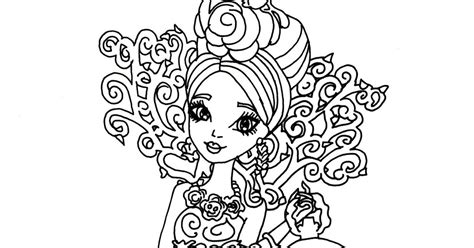 free printable ever after high coloring pages briar
