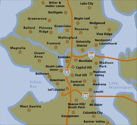 seattle map neighborhoods seattle neighborhoods hori hori dig dig