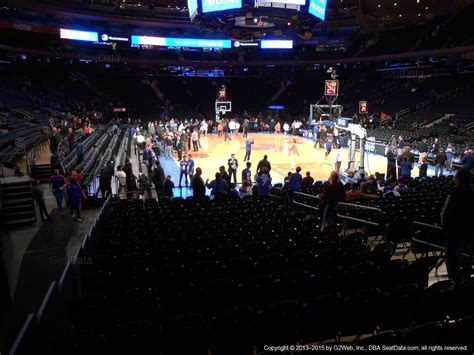 msg section 1 madison square garden section 1 new york knicks