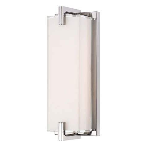 Vertical Bathroom Lights Cubism Chrome Led Bathroom Light Vertical Or Horizontal Mounting P5219 077 L Destination