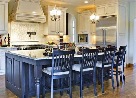 kitchen island with chairs setting up a kitchen island with seating